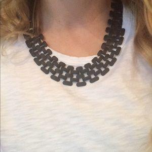 H&M Black Link Necklace